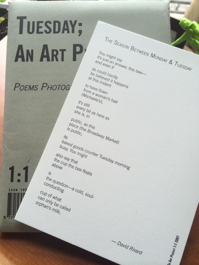 Rivard Poem